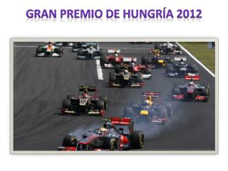 Gran Premio de Hungría 2012