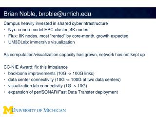 Brian Noble,  bnoble@umich