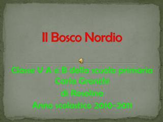 Il Bosco  Nordio