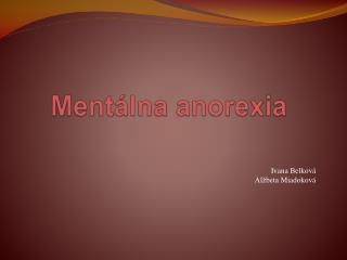 Mentálna  anorexia