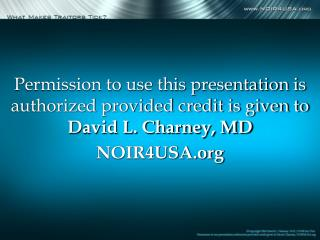 By David L. Charney, M.D ./NOIR for USA Psychiatrist Specializing in the Mind of the Spy