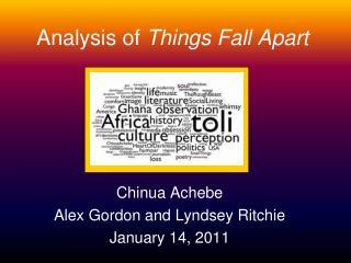 Analysis of  Things Fall Apart