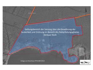 Anlage zum Beschluss STVV/287/2013