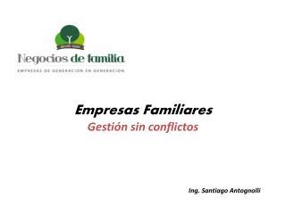 Ing. Santiago Antognolli