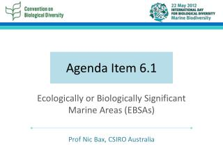 Agenda Item 6.1
