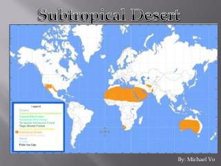 Subtropical Desert