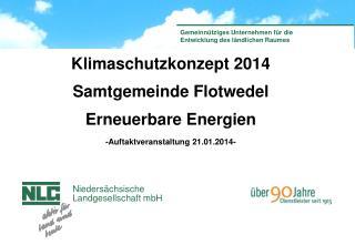 Klimaschutzkonzept 2014 Samtgemeinde Flotwedel Erneuerbare Energien