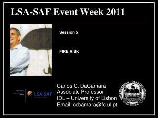 LSA-SAF  Event Week  2011