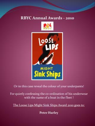 RBYC Annual Awards - 2010