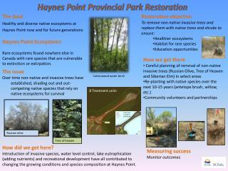 Haynes Point Provincial Park Restoration