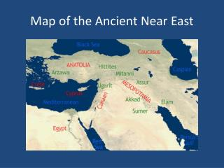 Map of the Ancient Near East