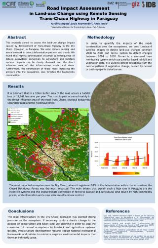 Road  Impact  Assessment  in Land-use Change using Remote Sensing