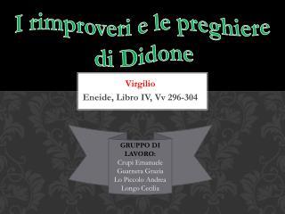 Virgilio Eneide, Libro IV,  Vv  296-304