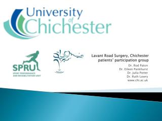 Lavant  Road Surgery, Chichester patients� participation group