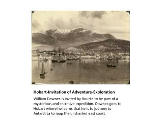 Hobart-Invitation of Adventure-Exploration