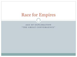 Race for Empires