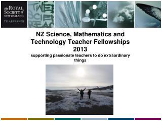 NZ Science, Mathematics and Technology Teacher Fellowships