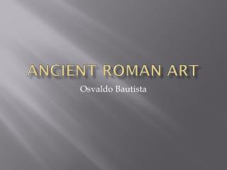 Ancient Roman Art