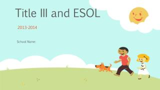Title III and ESOL
