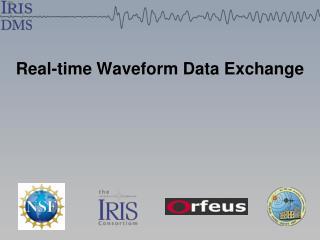 Real-time Waveform Data Exchange