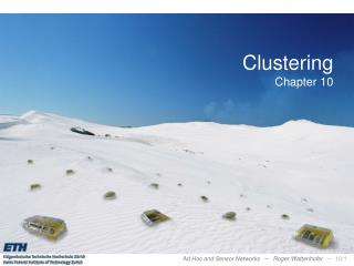 Clustering Chapter 10