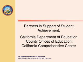 Overview of California s Public School System