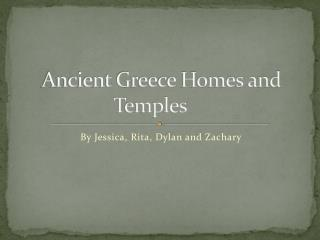 Ancient Greece Homes and Temples