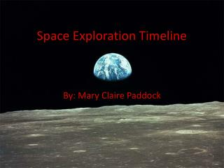 Space Exploration Timeline