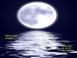 Motivul Lunii  in  literatura