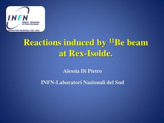 Reactions induced by  11 Be beam  at Rex- Isolde .