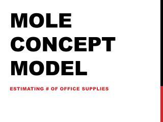 Mole Concept Model