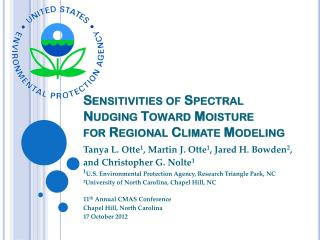 Sensitivities of Spectral Nudging Toward Moisture for Regional Climate Modeling