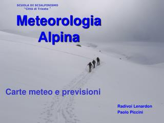 Meteorologia Alpina