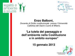 Enzo Balboni,