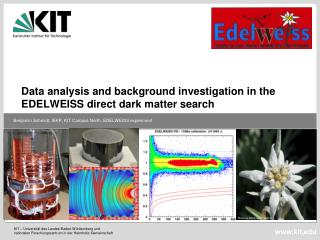 Data analysis and background investigation in the EDELWEISS direct  d ark  m atter search