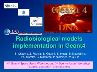 Radiobiological models implementation in Geant4