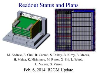 Readout Status and Plans