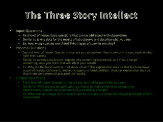 The Three Story Intellect