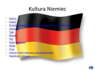 Kultura Niemiec