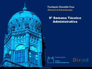 9ª Semana Técnico Administrativa