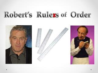 Robert's