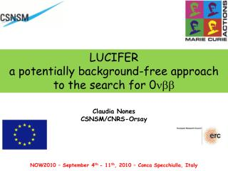 LUCIFER  a potentially background-free approach to the search f or 0 nbb