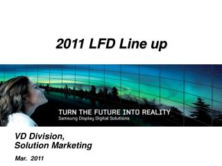VD Division, Solution Marketing