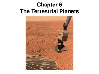 Chapter 6 The Terrestrial Planets