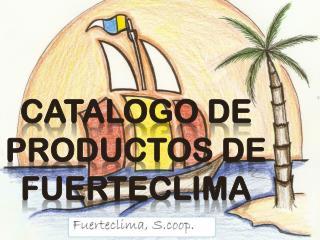 Catalogo de productos de Fuerteclima