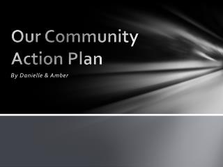 Our Community Action Plan