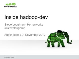 Inside  hadoop-dev