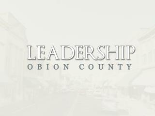 Obion County Leadership  Class of 2013 – 2014 Projects