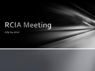 RCIA Meeting