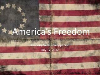 America's Freedom